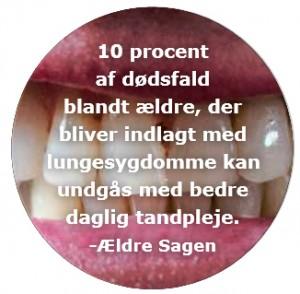 Lungesygdomme-bedre-tandpleje